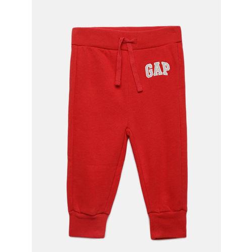 GAP Boys' Red Logo Joggers