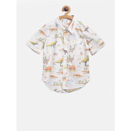 GAP Boy Dino Short Sleeve Shirt