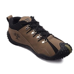 Rockfield Brown Leather Solid Men's Casual Shoes