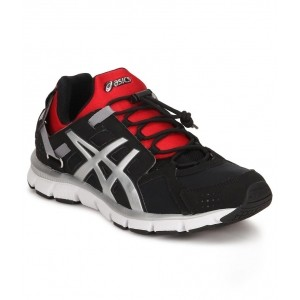 Asics Black Gel-Synthesi Sports Shoes For Men