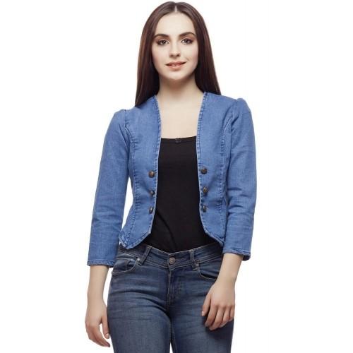 Buy Clo Clu Women s Denim Jacket online  ae7a667c03