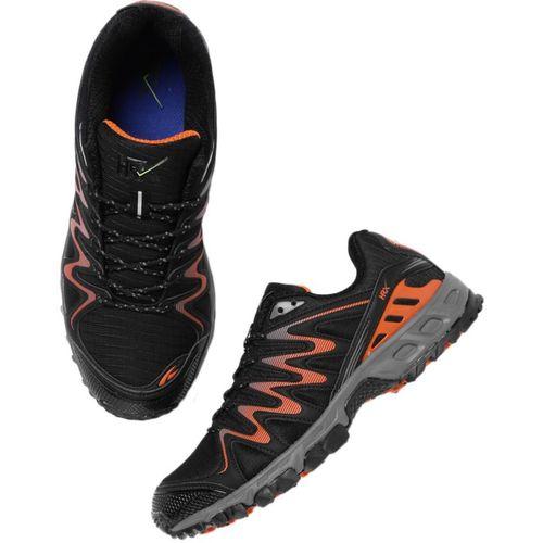 HRX by Hrithik Roshan Running Shoes For Men(Black, Orange)
