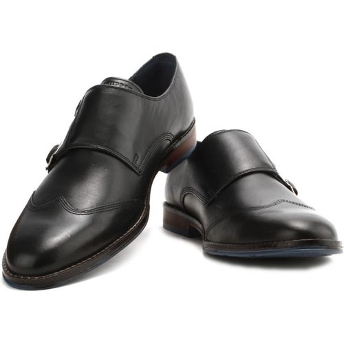 Hush Puppies By Bata Monk Strap Shoes