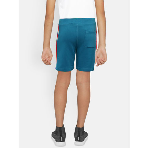 Bossini Boys Teal Blue Solid Regular Fit Shorts
