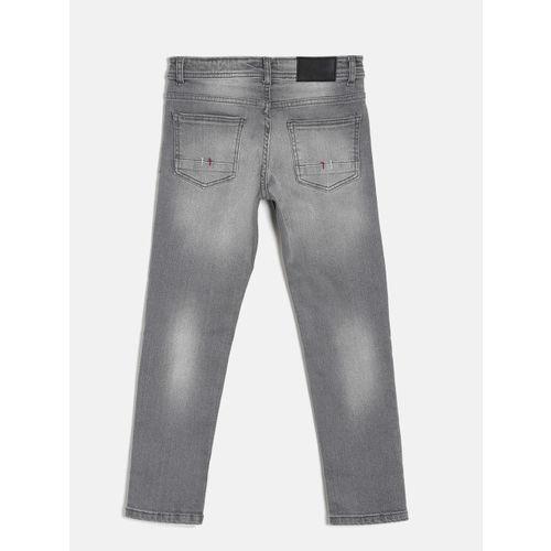 Bossini Boys Grey Regular Fit Clean Look Jeans