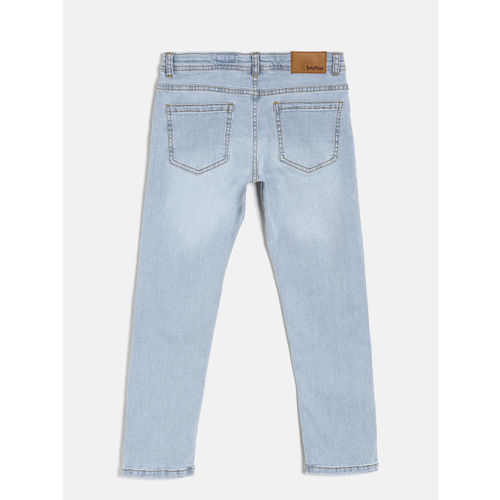 Bossini Boys Blue Slim Fit Clean Look Jeans