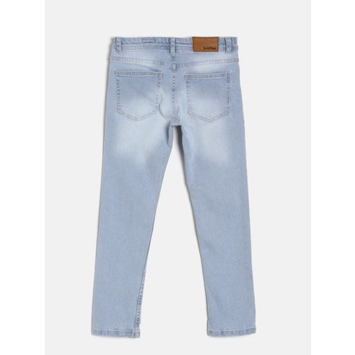 Bossini Boys Blue Regular Fit Mid-Rise Clean Look Jeans