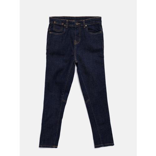 Bossini Boys Blue TYRON Slim Fit Mid-Rise Clean Look Jeans