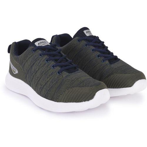 Action Walking Shoes For Men(Olive)