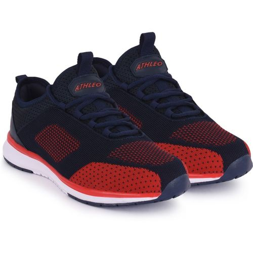 Action Training & Gym Shoes For Men(Navy, Red)