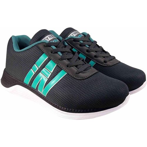 Action Synergy Men's 7366 GreySeaGreen Sports Running Shoes For Men(Green, Grey)