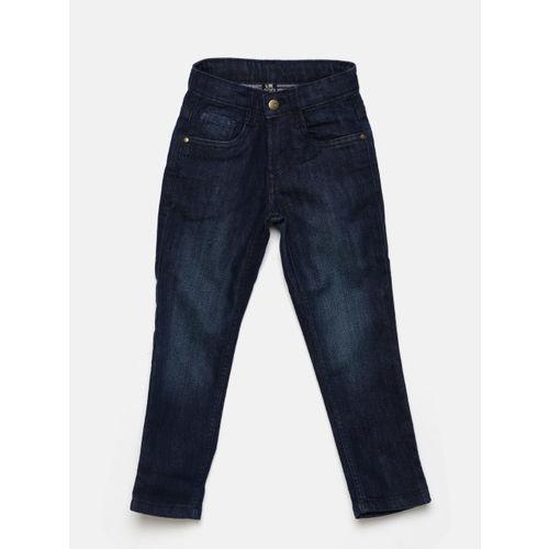 Flying Machine Boys Navy Blue Slim Fit Clean Look Jeans