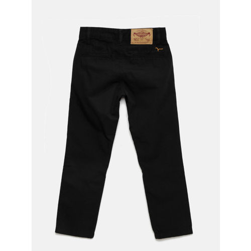 Flying Machine Boys Black Trousers
