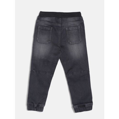 Juniors by Lifestyle Boys Grey Mid-Rise Clean Look Jeans