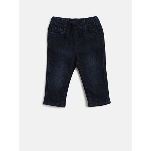 Juniors by Lifestyle Boys Blue Regular Fit Mid-Rise Clean Look Jeans
