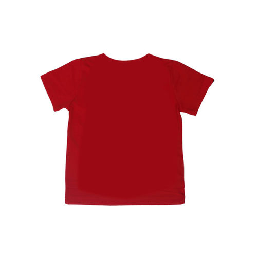 Noddy Boys Red Printed Round Neck T-shirt