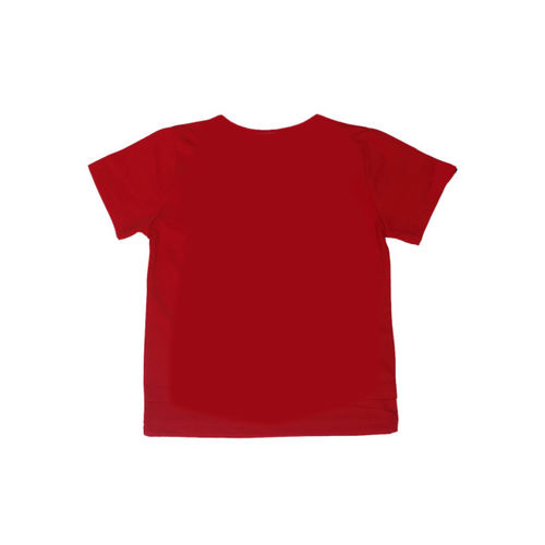 Noddy Boys Red Printed Round Neck T-shirt