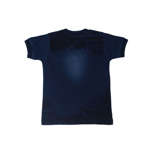 Noddy Boys Blue Printed Round Neck T-shirt