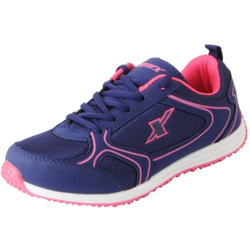Sparx Mesh Sports Running Shoes For Women(Pink)