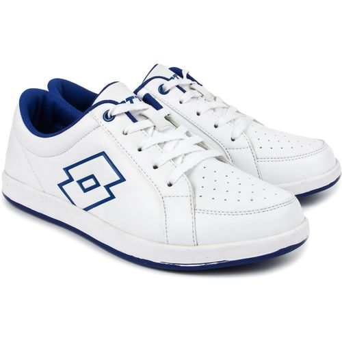 Lotto Running Shoes For Women(White, Blue)