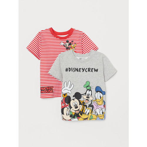 H&M Boys 2-Pack Printed T-shirts