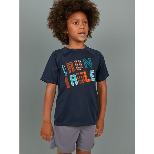 H&M Boys Blue Sports T-shirt