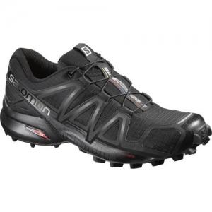 Salomon Speedcross 4 Running Shoes For Women(Black)