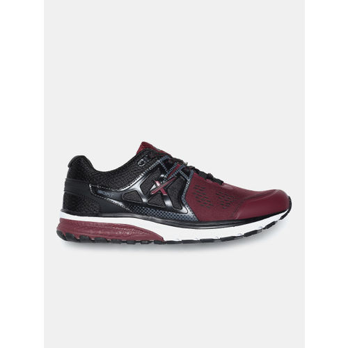 HRX by Hrithik Roshan Men Maroon & Black Road Running Shoes