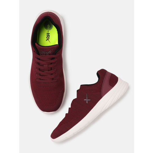 HRX by Hrithik Roshan Men Maroon Running Shoes