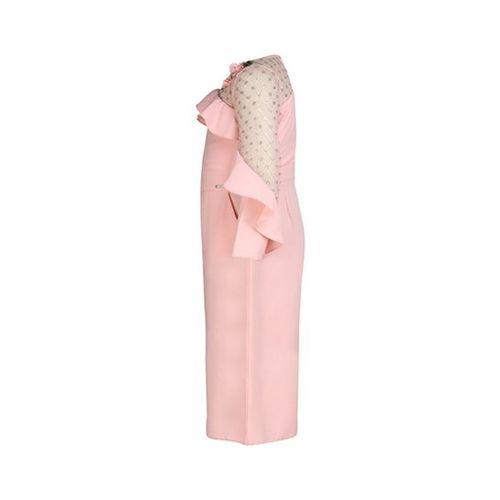 Cutecumber Kids Pink Embellished Jumpsuit