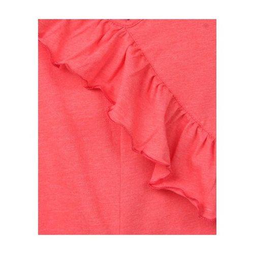 Beebay Kids Orange Jersey Frill Jumpsuit