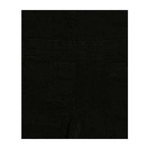 Allen Solly Junior Black Solid Dungaree