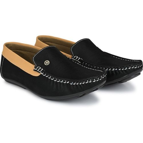 Andrew Scott Import Mesh Shoe's For Casuals Loafers For Men Loafers For Men(Black)