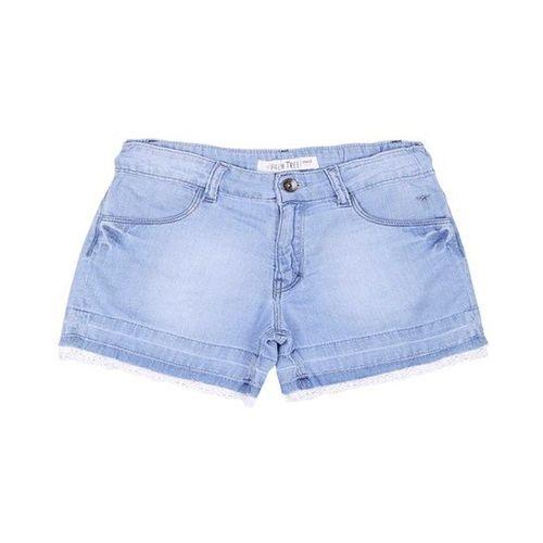 Gini & Jony Kids Palm Tree Blue Solid Shorts