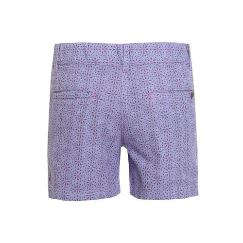 UFO Kids Lavender Printed Shorts