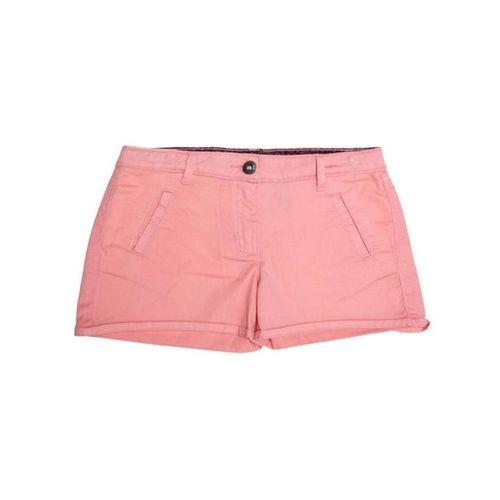 Allen Solly Junior Pink Solid Shorts