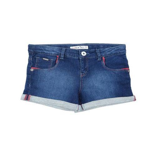 Palm Tree by Gini & Jony Kids Blue Solid Shorts