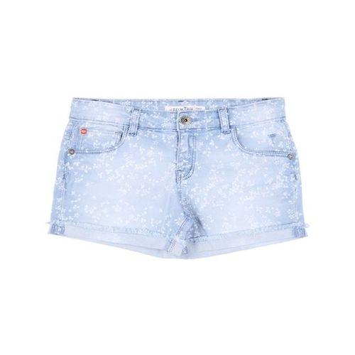 Palm Tree by Gini & Jony Kids Blue Printed Shorts