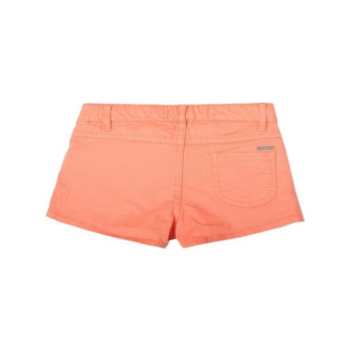 Allen Solly Junior Peach Solid Shorts