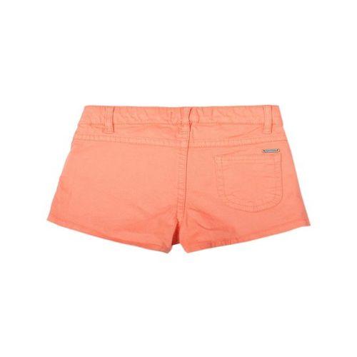 Allen Solly Junior Peach Solid Shorts
