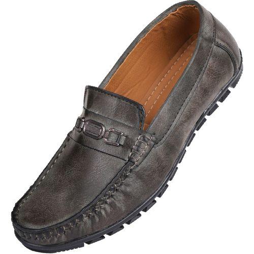Urbanwhiz Emosis Loafers For Men(Grey)