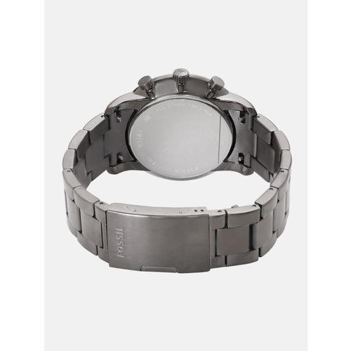 Fossil Men Black Chronograph Analogue Watch FS5518I