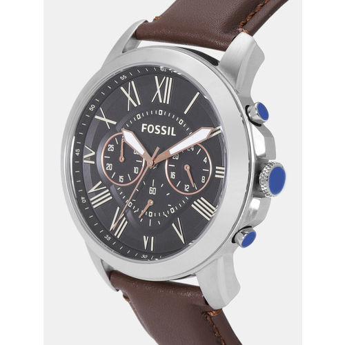 Fossil Men Black Chronograph Watch FS4813_SOR