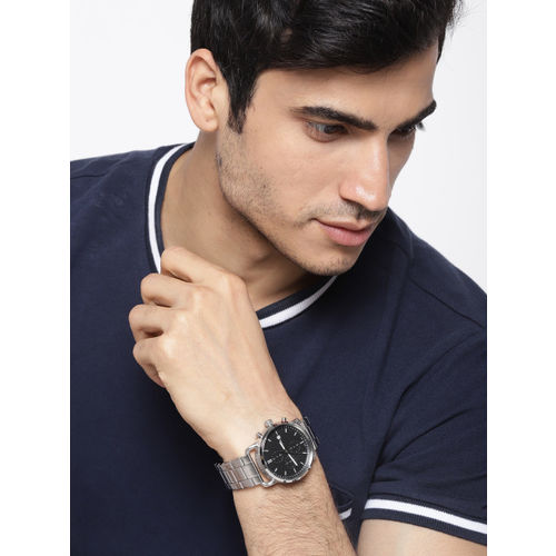 Fossil Black Analogue Watch FS5399