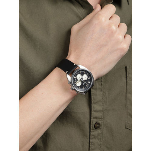 Fossil Men Black Factory Service Analogue Watch CH3043I