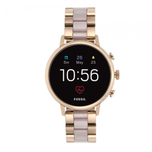 Fossil Women Pink Venture HR Smart Watch FTW6020
