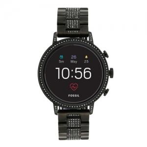 Fossil Women Black Venture Hr Smart Watch FTW6023