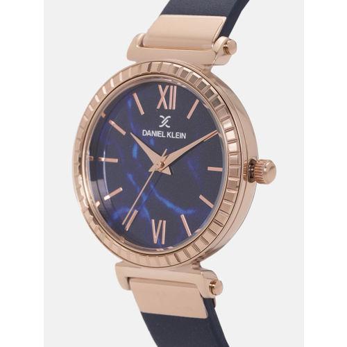 Daniel Klein Premium Women Navy Blue Analogue Watch DK12071-5