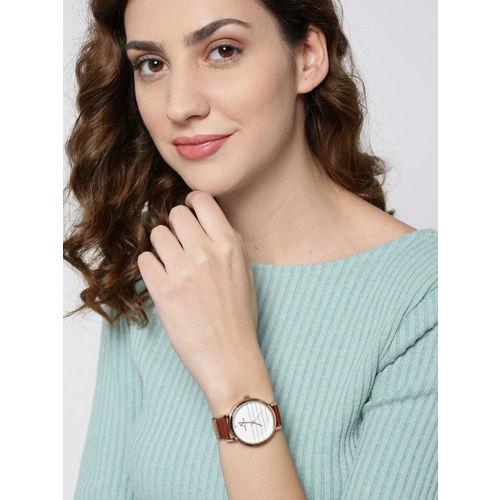 Daniel Klein Premium Women Off-White Analogue Watch 12054-6