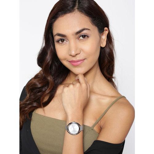 Daniel Klein Premium Women Silver-Toned Analogue Watch 12085-1